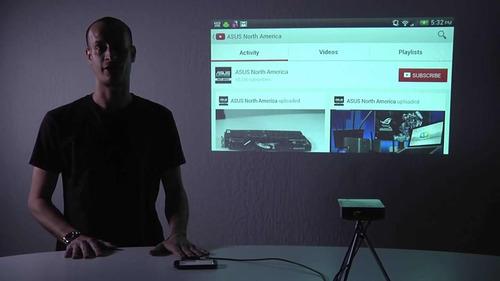 mini proyector portátil asus s1 unique store cr