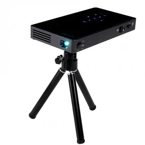 mini proyector portátil byntek  150 pulgadas 1500 lumenes