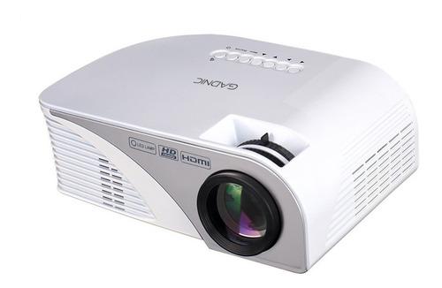 mini proyector portatil led 800 lumenes gadnic hdmi tv