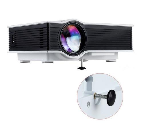 mini proyector portatil unic 800 lumens 120 hdmi usb vga usb
