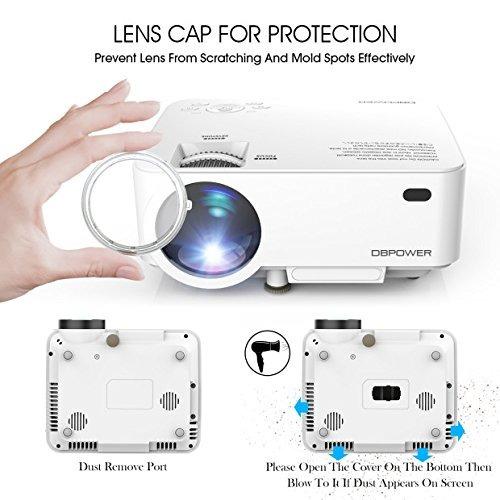 mini proyector proyector de pelicula led 50% mas brillante c