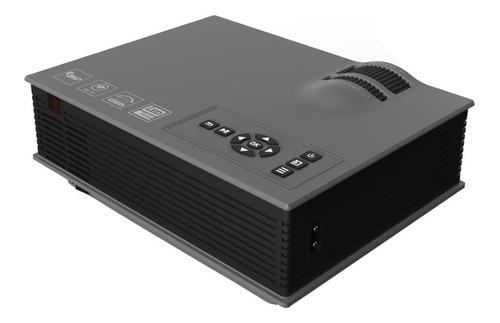 mini proyector uc46 wifi hdmi vga usb 1200 lumenes / e-roca