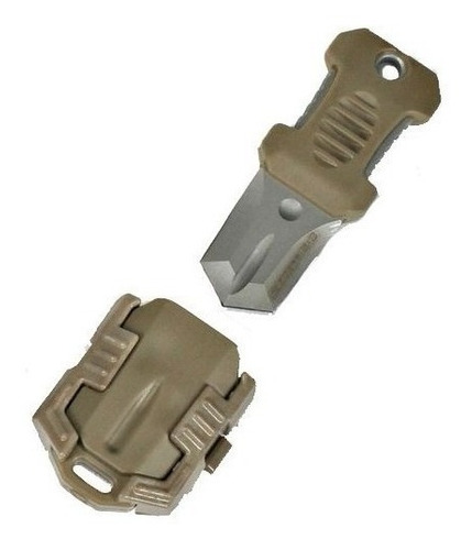 mini puñal táctico militar collar doble filo de bolsillo