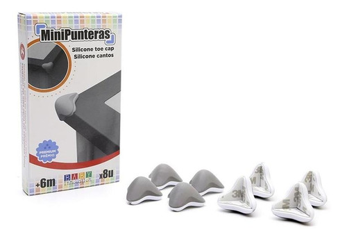 mini punteras premium de silicona x8 unidades + cuotas