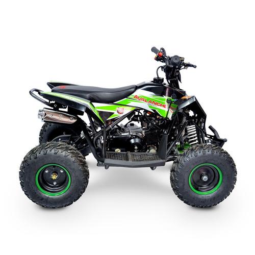 mini quadriciclo infantil avalanche 90 gasolina automático