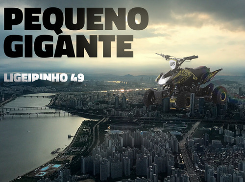 mini quadriciclo infantil ligeirinho 49cc - qec off road