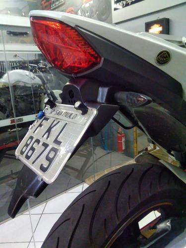 mini rabeta paralama traseiro placa fibra dafra next 250 300 lotus 022432 com nota