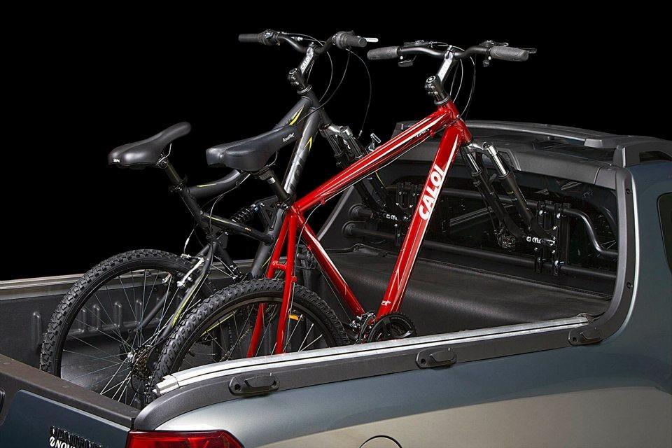 Mini Rack Bike Caçamba Horizontal Cyel 7032 Saveiro Cross - R$ 169,99 em Mercado Livre