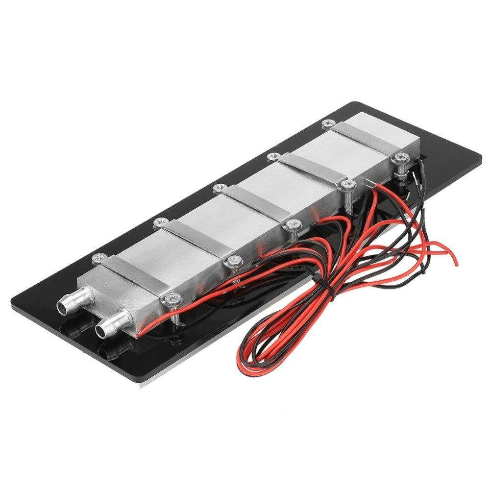 Mini Radiador Peltier Water Block Cooler 360w Modulo 12v