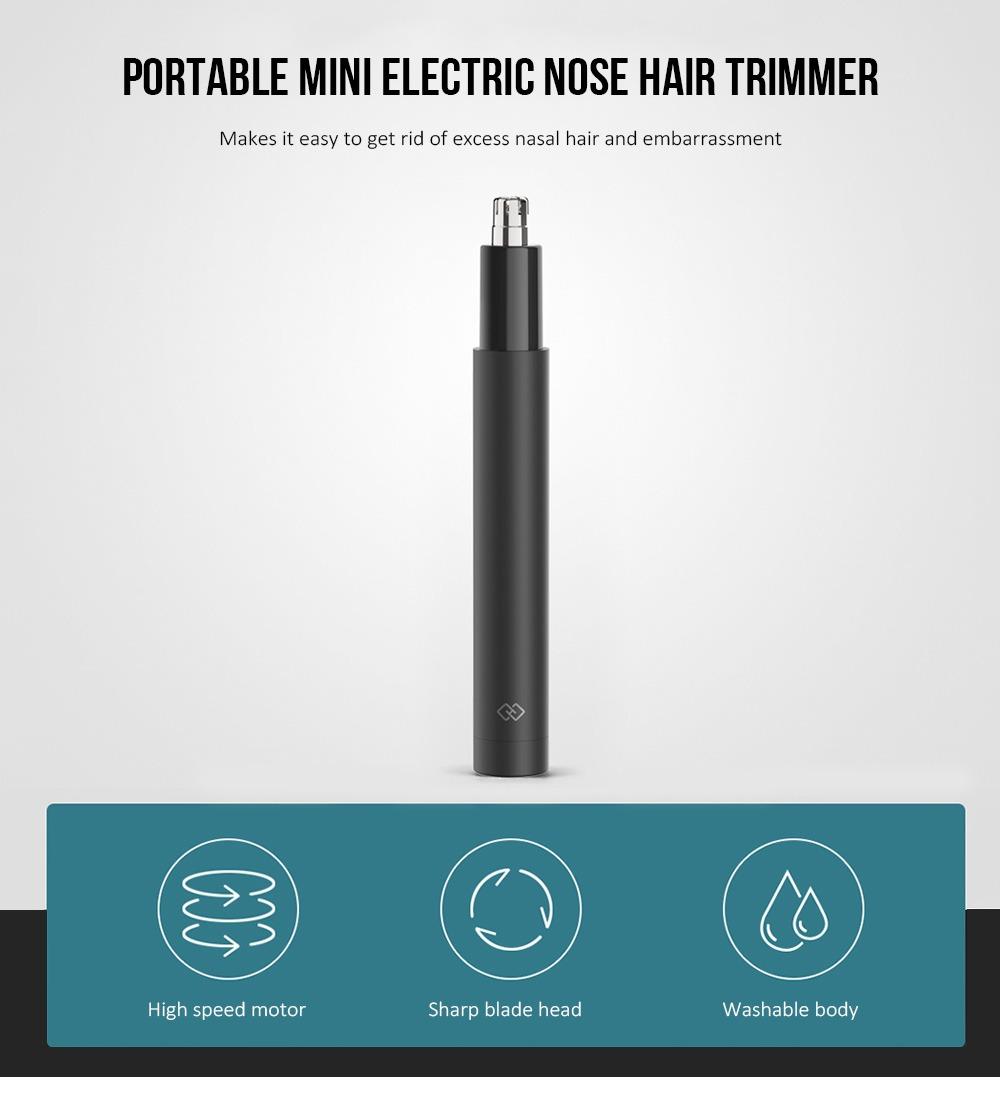 Mini Recortador De Cabello Nariz Eléctrico Portátil -   11.125 en ... d406c44eb950