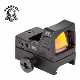 Mini Red Dot Pistola Airsoft Preto