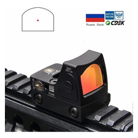 Mini Red Dot Pistola Airsoft Preto Com Mount Para Glock