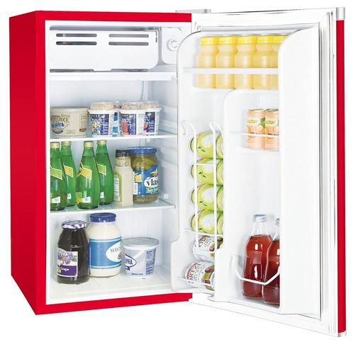 mini refrigerador congelador igloo rca rojo nevera / j