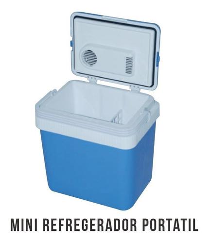 mini refrigerador - cooler para automovil de 24l