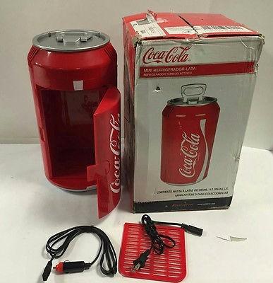 mini refrigerador lata de coca-cola - importado