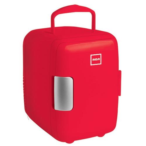 mini refrigerador rca frigobar portatil enfria y calienta