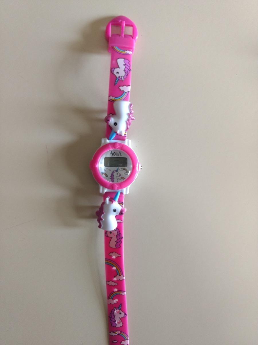 dc4626c9b Mini Relógio Infantil P/meninas A Prova D Água/novo/variados - R$ 13 ...