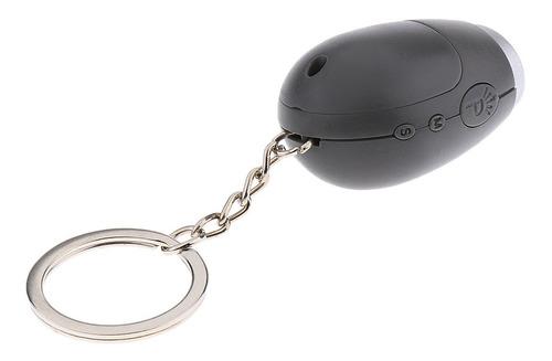 mini reloj de proyección portátil led llavero distancia