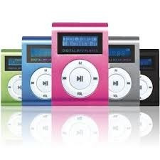 mini reproductor  mp3 con pantalla lcd radio fm micro sd