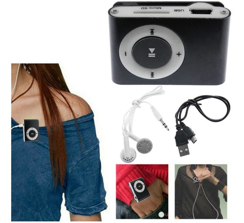 mini reproductor mp3 music player mini clip usb 32gb