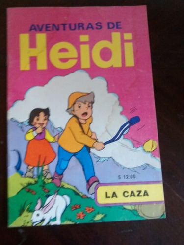 mini revista  aventuras de heidi n° 23 - la caza (269w