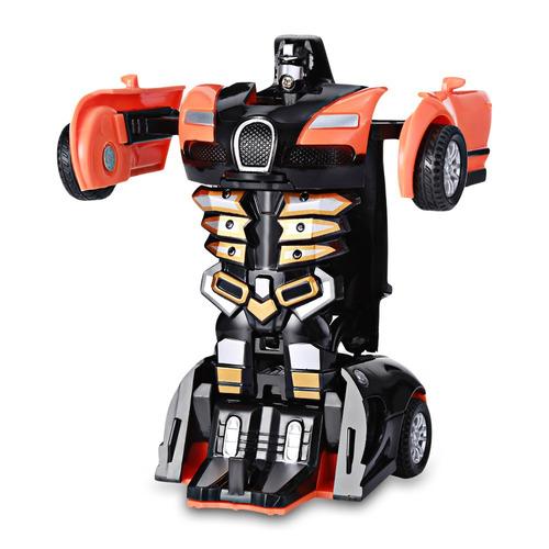 mini robot de transformación de juguete