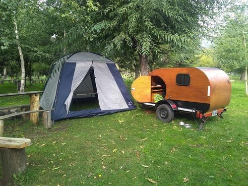mini rodante y trailer playo, se pueden usar por separado