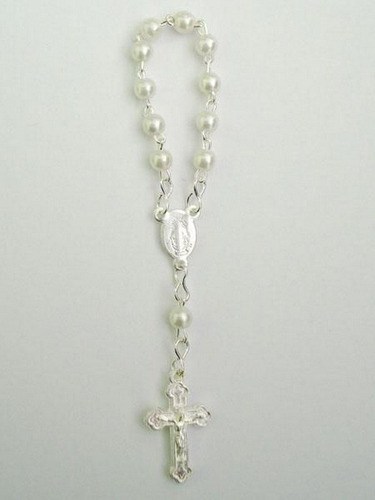 mini rosario - bautismo cumpleaños