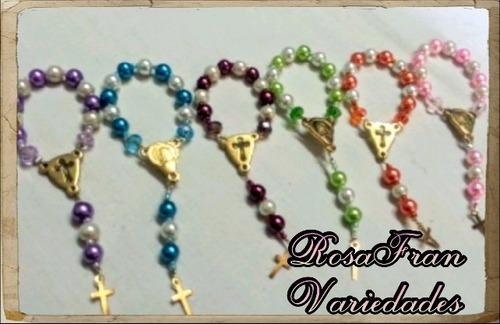 mini rosario recuerdo bautizo novenario comunión misas