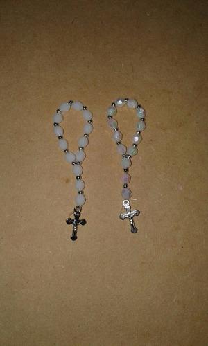 mini rosarios souveniers