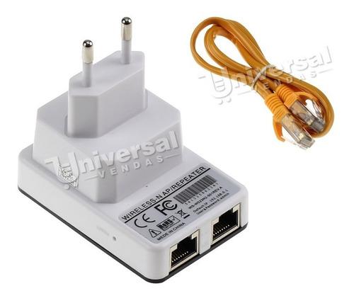 mini roteador e repetidor de sinal 300mbps wireless portátil