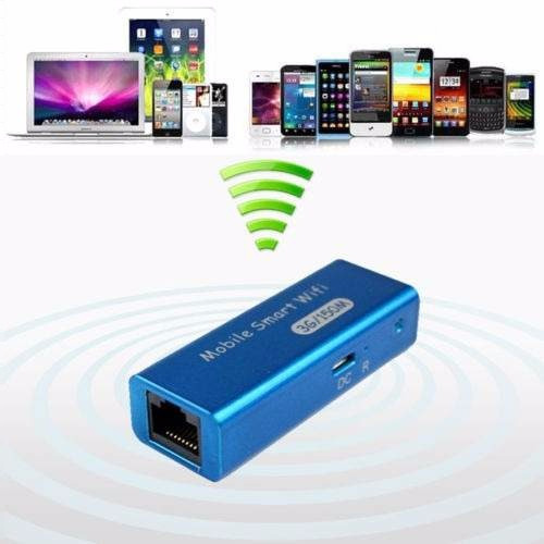 mini roter portable 3g blanco 150mbps wifi win mac linux new