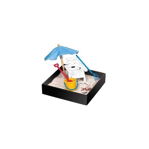 mini-sandbox ejecutivo - descanso en la playa + envio gratis