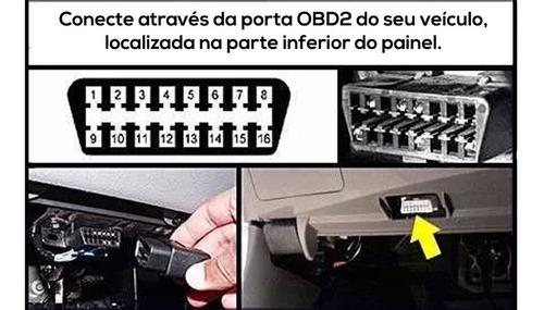 mini scanner  automotivo advanced obd2 bluetooth versão 2.1