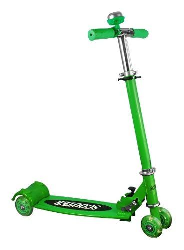 mini scooter patin del diablo 207 verde - caja maltratada