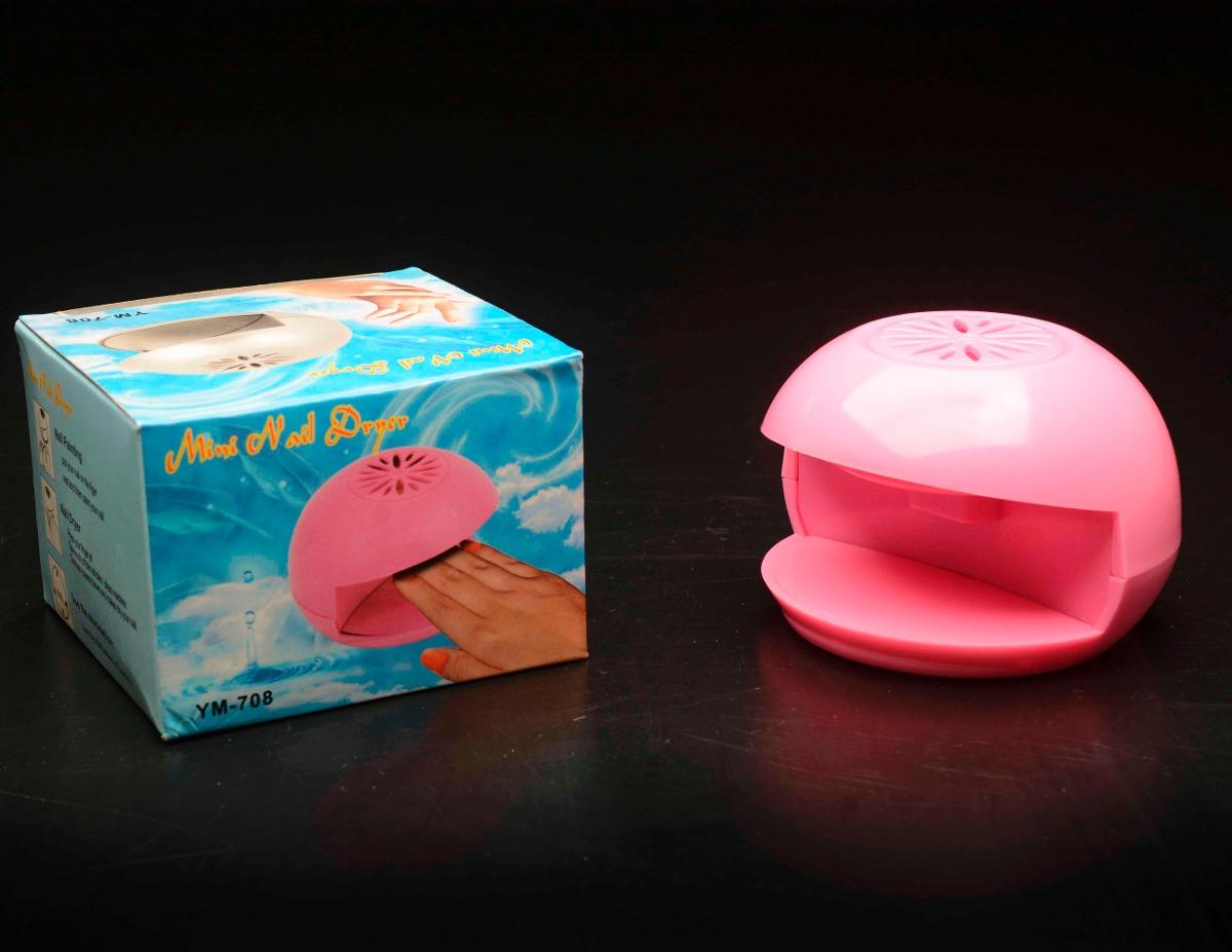 Mini Secador Para Uñas Manos Portátil Eléctrico Manicure - Bs. 2.000 ...