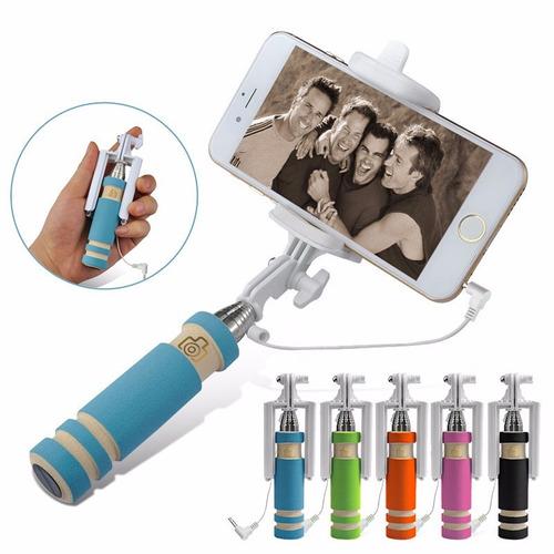 mini selfie stick, baston para selfies nuevo