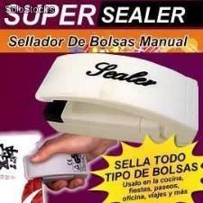 mini sellador de funda y bolsas portátil funcional original