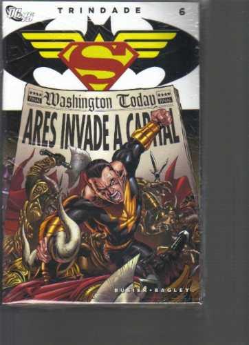 mini-serie trindade batman e superman - 6 volumes novos