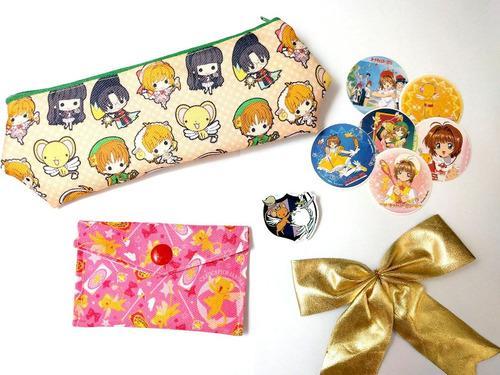 mini set para regalo card captor sakura anime clamp kero
