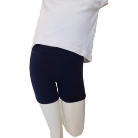 201c20c06 Mini Short Calza Corta Colegial Talle 4 Al 16 Nena Niña