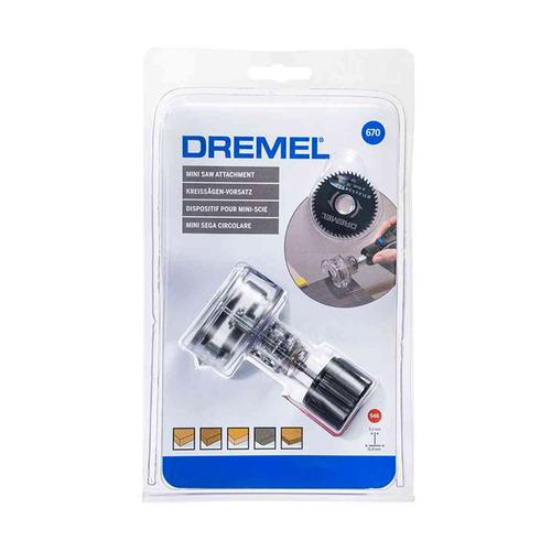 mini sierra circular dremel - 670 aditamento p/ minitorno