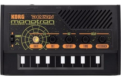 mini sintetizador analógico portátil korg monotron delay