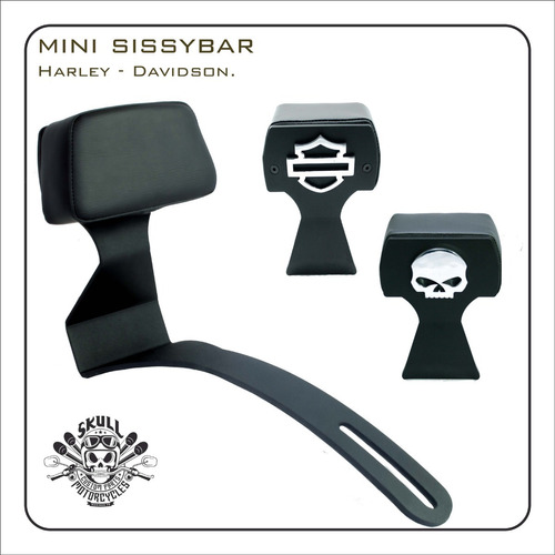 mini sissy bar  harley davidson  roadster