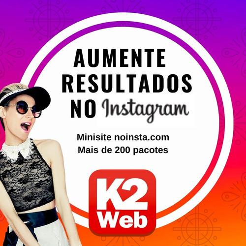 mini site instagram. amplie seus resultados na rede social