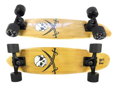 mini skate corsair cruiser longboard completo profissional