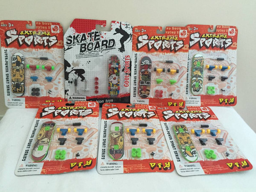 mini skate (kit com 7 unidades)