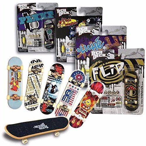 mini skate tech deck x 4 combo ( modelos surtidos )