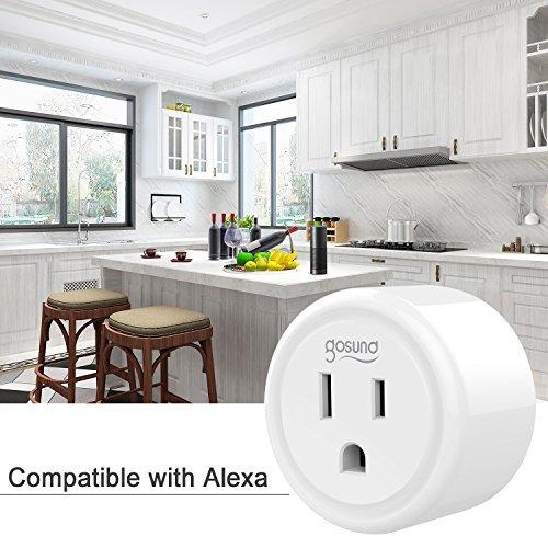 mini smart plug outlet compatible con amazon alexa google ho