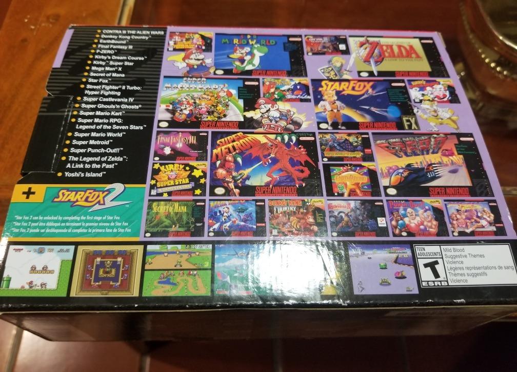 Mini Snes Classic Edition 21 Juegos 2 200 00 En Mercado Libre